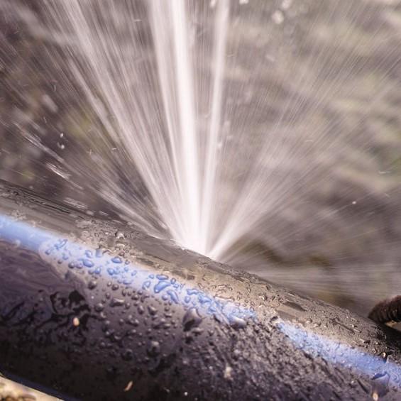 burst pipe leak