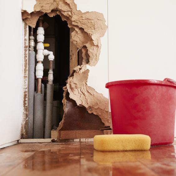 damage to internal plumbing